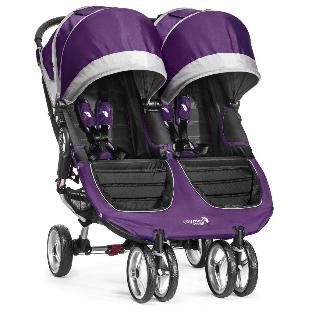 poussette city mini double violet baby jogger
