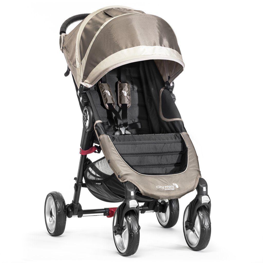 poussette city mini 4 roues sable baby jogger bambinou
