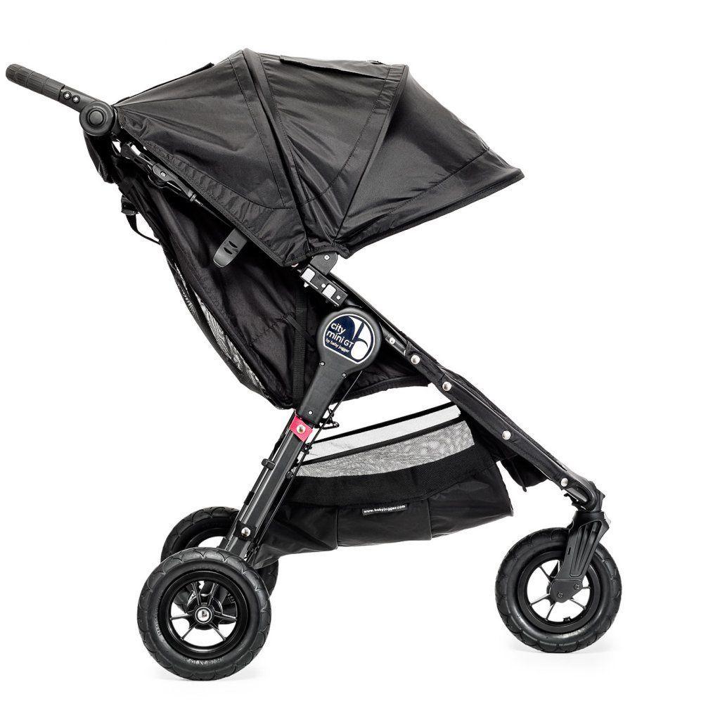 poussette city mini 3 roues GT noir baby jogger bambinou