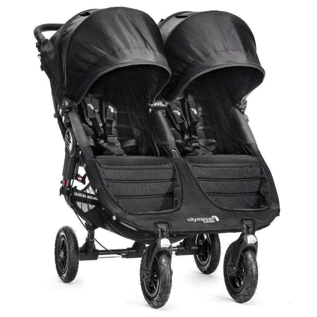 poussette city mini double gt noir baby jogger bambinou