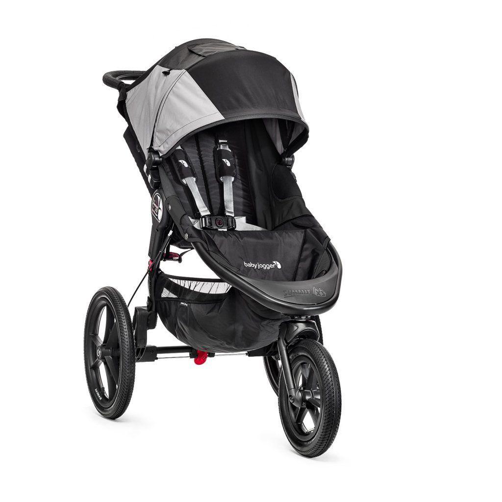 Poussette Summit X3 noir gris baby jogger bambinou