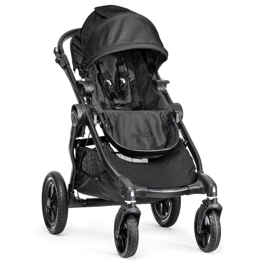 poussette city select avec siege noir 1 ou 2 enfants baby jogger bambinou