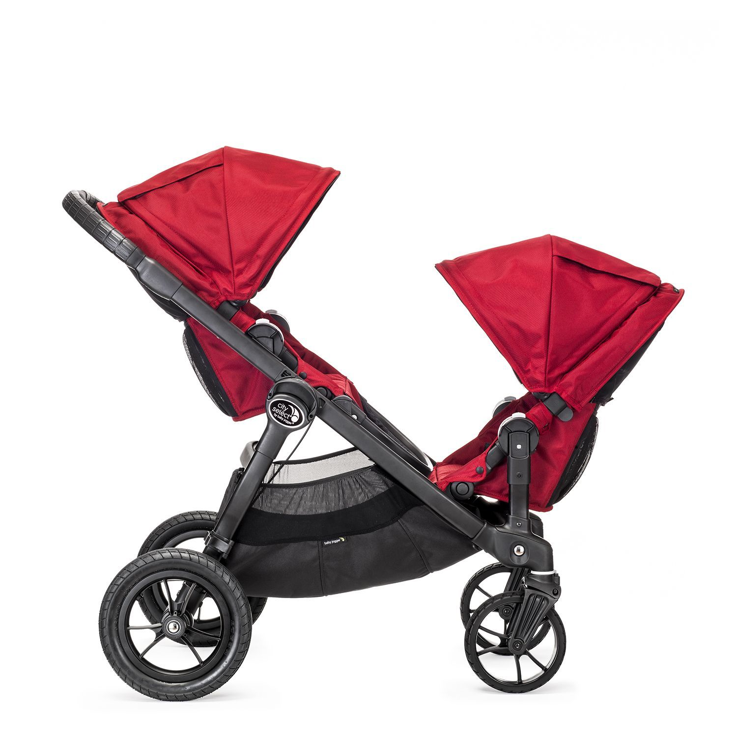 poussette city select rouge baby jogger bambinou