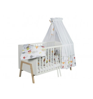 Lit bebe evolutif 70x140 HOLLY NATURE