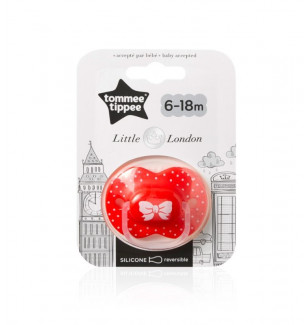 sucette CTN little london 6-8 mois fille tommee tippee bambinou