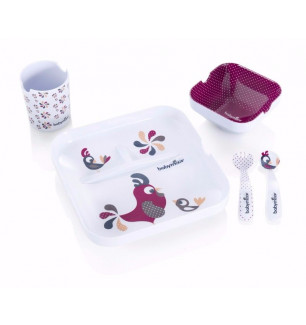 Coffret repas bébé Lovely Lunch set Bird - Babymoov - Bambinou