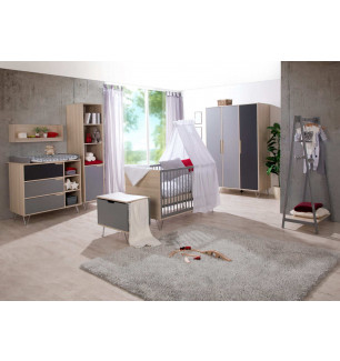 Chambre Marit Gris / Acacia Geuther 1