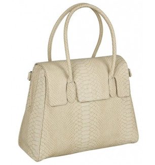 Sac a langer Tender Brief simili serpent beige Lassig BamBinou