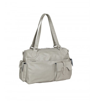 Sac a langer Tender Shoulder Bag Stone Lassig BamBinou