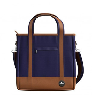 Sac à langer Zigi Mima Midnight Blue vue de face