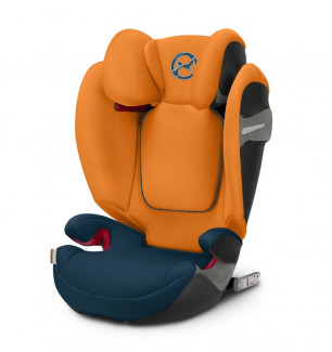 Siege auto Solution S Fix groupe 2 3 Tropical Blue Cybex BamBinou