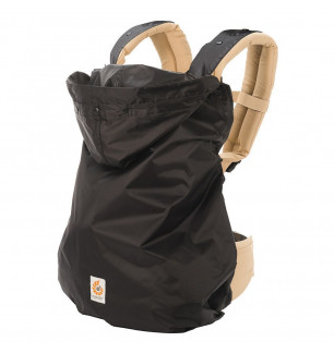 cocon impermeable noir Ergobaby
