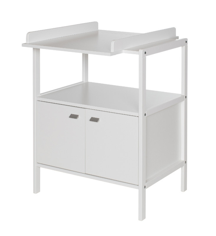 Table langer selma geuther bambinou - Table a langer blanche ...