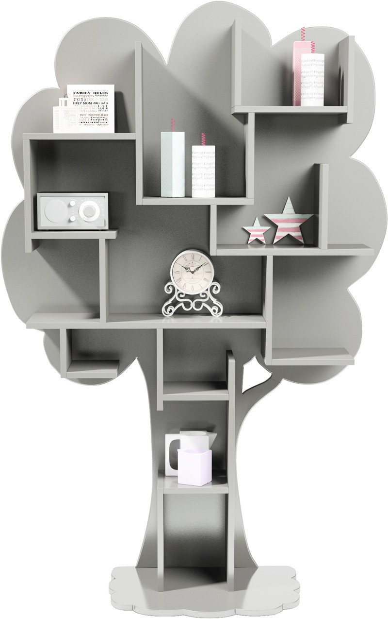 biblioth que louane arbre mathy by bols bambinou. Black Bedroom Furniture Sets. Home Design Ideas