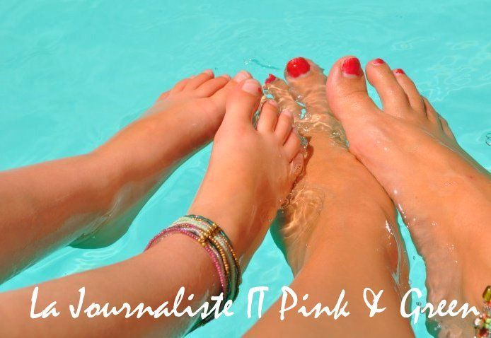Le blog de la journaliste green et pink